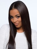 Stock Straight 100% density Full Lace Human Hair Wig-Straight-sst001