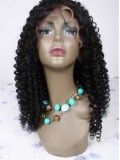 Custom Curly Full Lace Wig - bhc1011