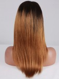 Stock LaLa Vazquez Straight Human Hair Full Lace Wig-Straight-sc026