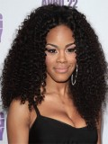 Stock Teyana Taylor Curly Human Hair Full Lace Wig-Curly-CC008