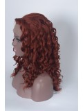 Custom Curly Human Hair Full Lace Wig-Curly-cc012