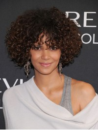 Custom Celebrity Curly Human Hair Full Lace Wig-Curly-CC017