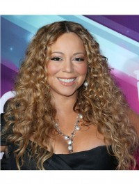 Custom Curly Human Hair Full Lace Wig-Curly-cc024