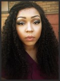 Custom Curly Human Hair Full Lace Wig-Curly-cc035