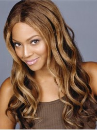 Custom beyonce Wavy Human Hair Lace Wig-Wavy-wc006