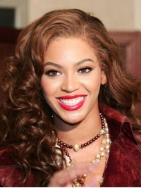 Custom beyonce Wavy Human Hair Lace Wig-Wavy-wc008