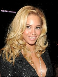 Custom beyonce Wavy Human Hair Lace Wig-Wavy-wc011
