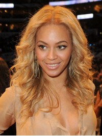 Custom beyonce Wavy Human Hair Lace Wig-Wavy-wc013