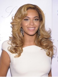 Custom beyonce Wavy Human Hair Lace Wig-Wavy-wc014