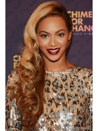 Custom beyonce Wavy Human Hair Lace Wig-Wavy-wc015