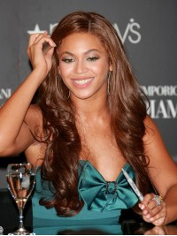 Custom beyonce Wavy Human Hair Lace Wig-Wavy-wc017