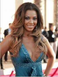 Custom beyonce Wavy Human Hair Lace Wig-Wavy-wc018