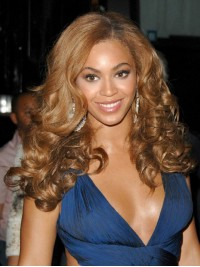 Custom Beyonce Wavy Human Hair Lace Wig-Wavy-wc026