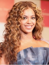 Custom Beyonce Wavy Human Hair Lace Wig-Wavy-wc027