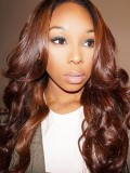 Stock Kim Inspired Wavy Human Hair Full Lace Wig-Wavy-WC054