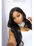Custom LaLa Vazquez Wavy Human Hair Full  Lace Wig-Wavy-wc060