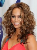 Custom Tyra Wavy Human Hair Full  Lace Wig-Wavy-wc070