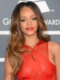 Stock Rihanna Wavy Human Hair Full  Lace Wig-Wavy-wc086
