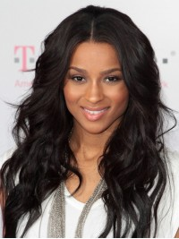 Stock Ciara Wavy Human Hair Full  Lace Wig-Wavy-WC095