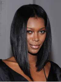 Stock Jessica White Straight Bob Hair Wig-Straight-SST010