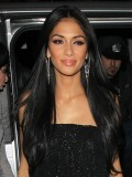 Stock Nicole Scherzinger Human Hair Full Lace Wig-Straight-SST017