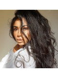 Stock Italian Yaki Human Hair Full Lace Wig-SST025