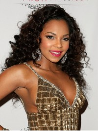 Stock Ashanti Human Hair Full Lace Wig-Curly-cst003