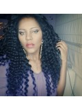 Custom Curly Human Hair Full Lace Wig-Curly-cc036