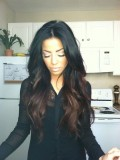 Stock Ombre Wavy Full Lace Wig-wc030
