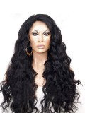 Beautiful Wavy Full Lace Human Hair Wig-WC035