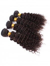 100% Virgin Human Hair Clip In Hair Extension-Curly-dc001