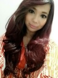 Celebrity Ombre Wavy Full Lace Wig with Bang-wc099