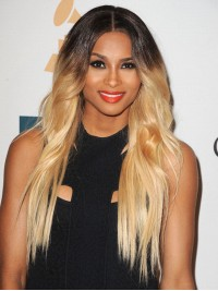 Ciara Long Ombre Wavy Full Lace Wig-wc100