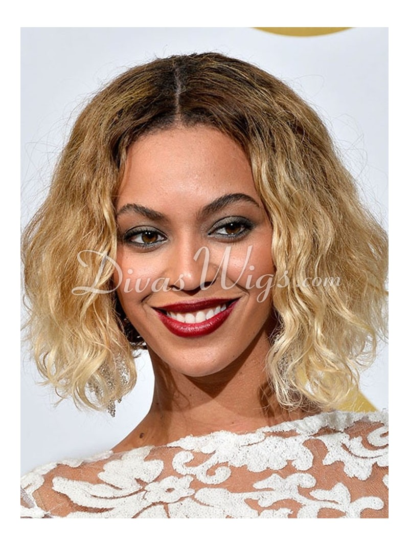 Custom Beyonce Insoired Short Bob Ombre Full Lace Wig-wc101 - Home ...