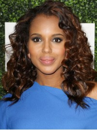 Celebrity Wavy Full Lace Wig with Highlight-wc104