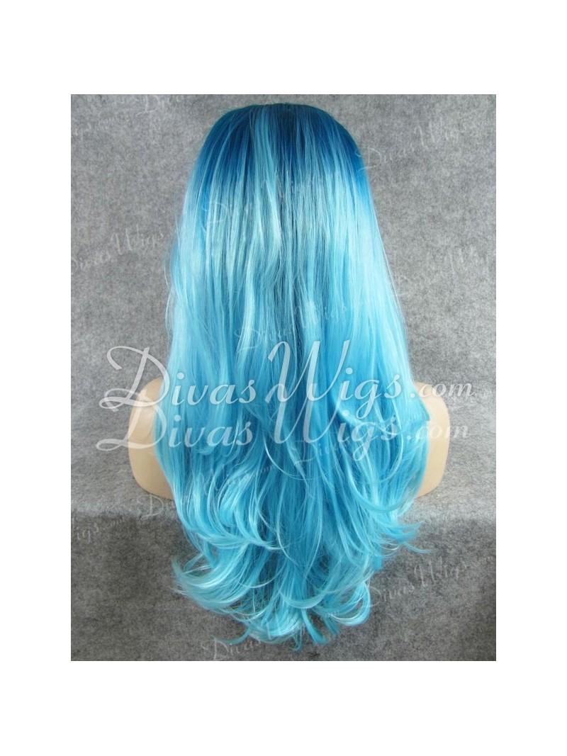 The gallery for --> Blue Black Hair Dye Box