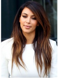 Kim Layered Straight Full Lace Wig-wc108
