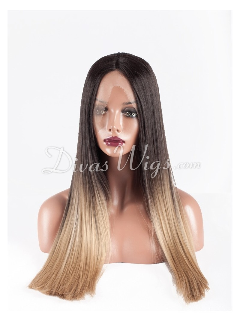 Ombre Synthetic Lace Front Wigs 47