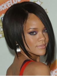 Rihanna Inspired Short Bob Full Lace Wig-sc002