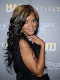 Angela Simmons Highlight Full Lace Wig-wst019