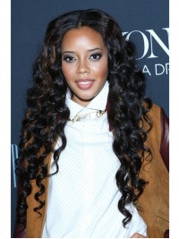 Angela Simmons Wavy Full Lace Wig-wst018