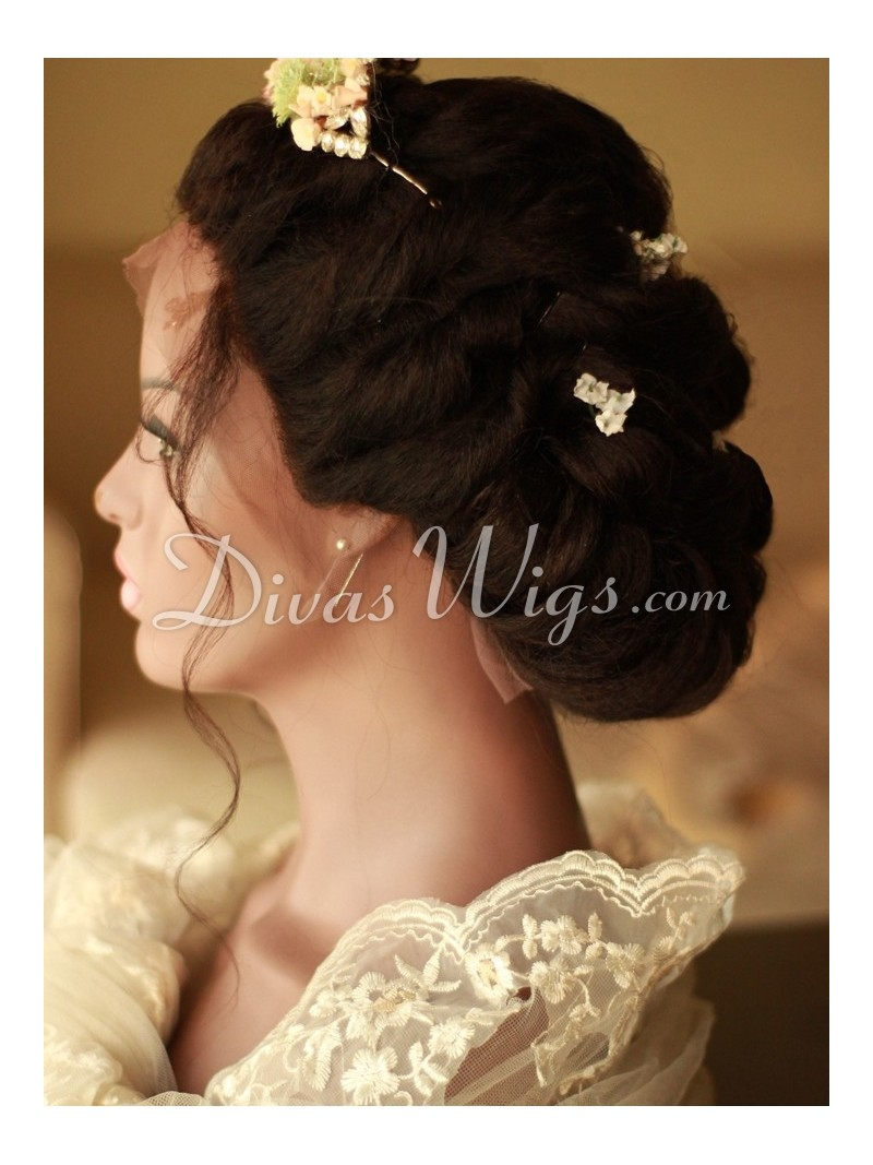 Wedding Hairstyle Human Hair Full Lace Wig - ww008 - Home ...