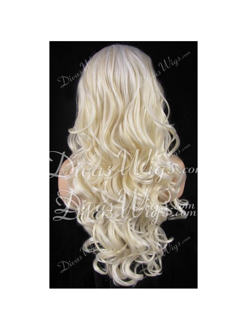 White Blonde Wigs 77