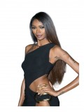 Jessica White Chinese Virgin Human Hair Stright Full Lace Wig - sc065