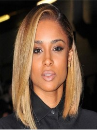 Stock Ciara Inspired Blond Full Lace Human Hair Bob-SC668