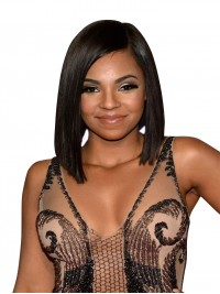 Ashanti Inspired Full lace human hair BOb--AT068