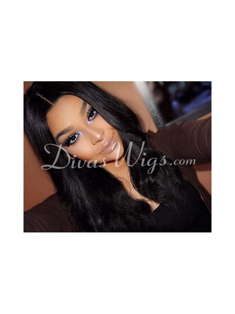 Full Cap Human Hair Wig 83