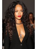 Rihanna Inspired ombre curly Full Lace Human Hair wig - RR012