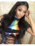 kylie Jenner Inspired long wavy Full Lace wig with layers -KJ068