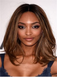Celebrity Inspired Human Hair Full Lace Lob-SC866